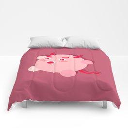 The cutest evil demon ever! Comforters