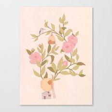 RoseBird Canvas Print