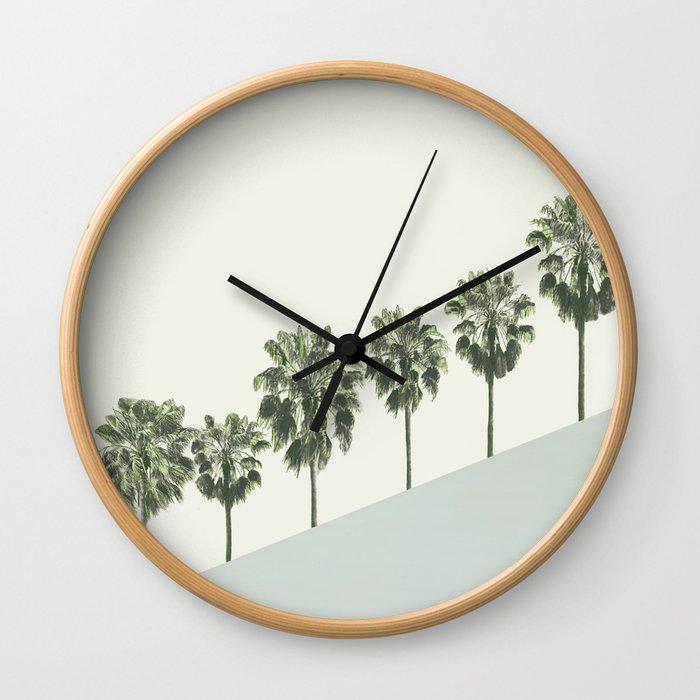 Palm Trees 4 Wall Clock