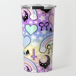 Pastel Goth Collage Travel Mug