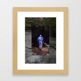 peter in prospect park Framed Art Print