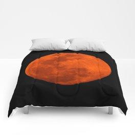 Orange Moon Comforters