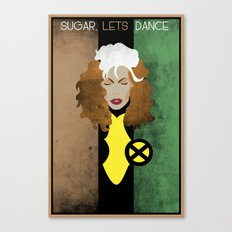 Sugar, Lets Dance Canvas Print