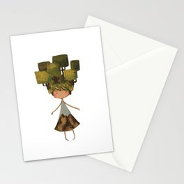 Tree head Stationery Cards