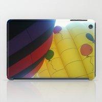 hot air balloons iPad Cases featuring Hot Air Balloons by merialayne