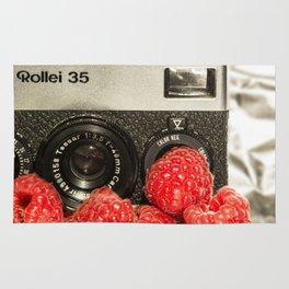 Raspberry Rollei Rug