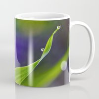 wave Mugs featuring wave by Bonnie Jakobsen-Martin
