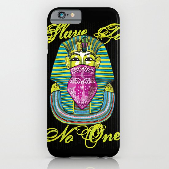 Slave To No One iPhone & iPod Case