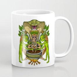 Ayahuasca DMT Aliens Shaman Coffee Mug