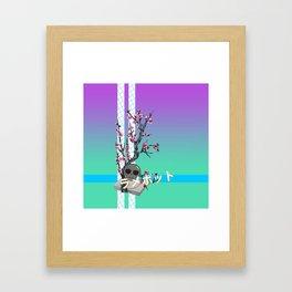 LAME Tea Framed Art Print
