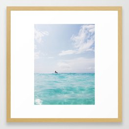 Waverunner Framed Art Print