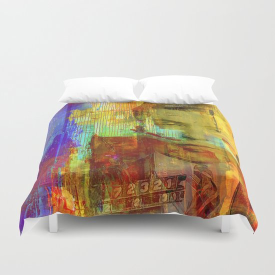 Don Lucky Duvet Cover