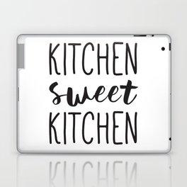Kitchen Signs, Kitchen Decor, Wall Art, Typography Print, Kitchen Sweet Kitchen Laptop & iPad Skin