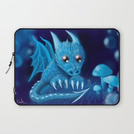 Blue Bubble Bop Laptop Sleeve