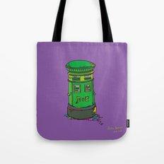 Irish postbox Tote Bag