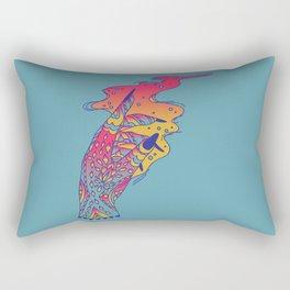 Witch Hand Rectangular Pillow
