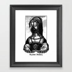 Erzsébet Báthory Framed Art Print