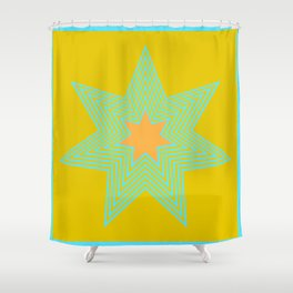 7 Points - Tropical Treasure Shower Curtain
