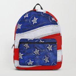 Fancy Flag:  USA 1 Backpack