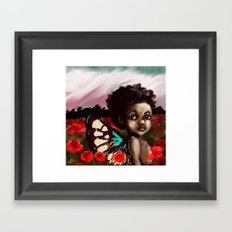 Aman Framed Art Print