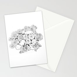Aeoniums of sleep Stationery Cards