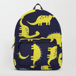 cute yellow dinosaurs Backpack