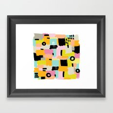 Color section001 Framed Art Print
