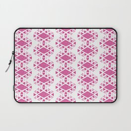 Monlay Pink, Mountain lines, Geometric Laptop Sleeve