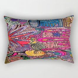 Bright [Like Neon Love] Rectangular Pillow