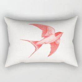 Barn Swallow (red) Rectangular Pillow