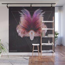 Magenta Wall Mural