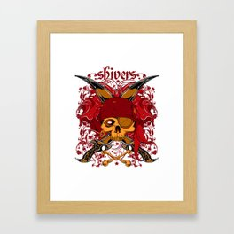 Shivers Pirates Framed Art Print
