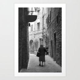 Volterra  Art Print