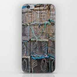 Lobster Cages iPhone Skin