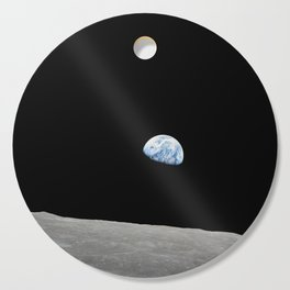 Apollo 8 - Iconic Earthrise Photograph Cutting Board
