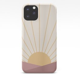 Morning Light - Pink iPhone Case