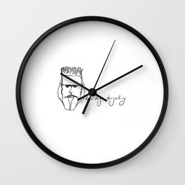 dex digs darjeeling Wall Clock