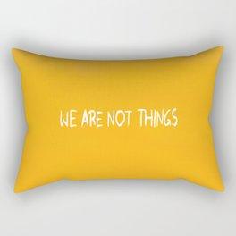 Who Killed the World? Rectangular Pillow