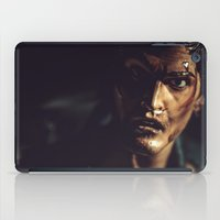 evil dead iPad Cases featuring Evil Dead 2 - Ash by Sharon Wright
