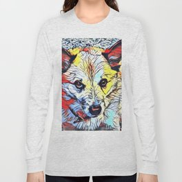 Color Kick - Dog (R) Long Sleeve T-shirt