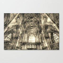 York Minster Vintage Canvas Print
