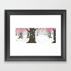 In the Stillness Framed Art Print