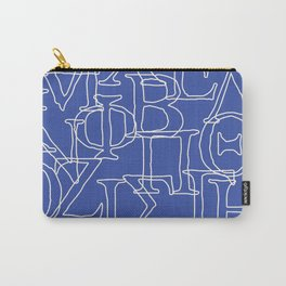 Greek Alphabet Carry-All Pouch