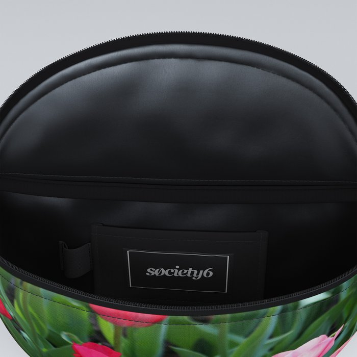 Shades Of Pink Tulips Fanny Pack