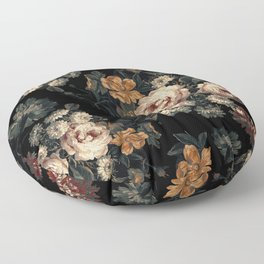 Midnight Garden XIV Floor Pillow