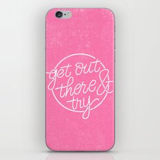 GET OUT THERE & TRY iPhone & iPod Skin