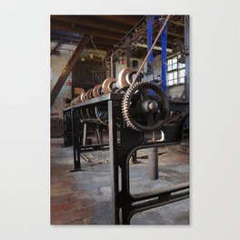 Bobbin winder Canvas Print