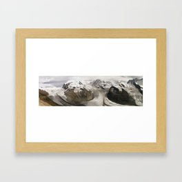 The alps Framed Art Print