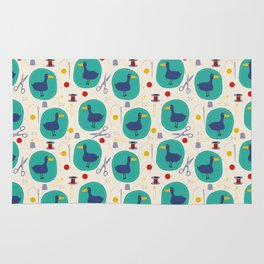 Duck patches Rug