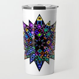 Starry Bursts Travel Mug